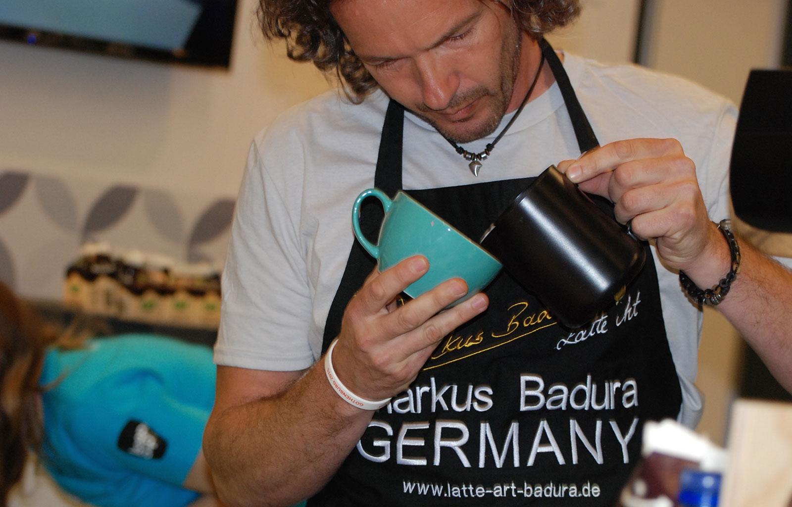Markus Badura – Deutscher Latte Art Meister 2015